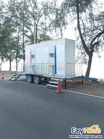 ห้องน้ำสำเร็จรูปเคลื่อนที่ Mobile Toilet