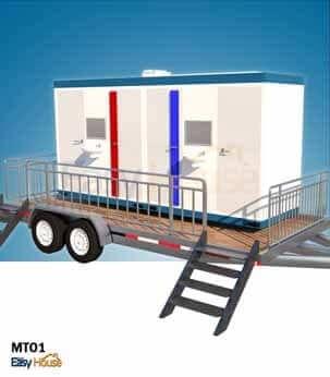 รถ ห้องน้ำสำเร็จรูป ห้องสุขา เคลื่อนที่ MT01