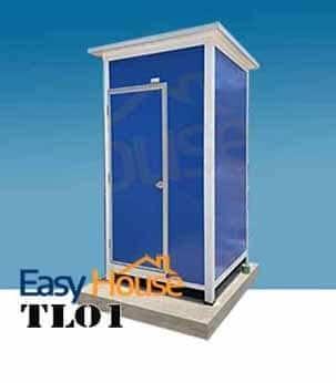 ห้องน้ำสำเร็จรูป สุขา ส้วม เคลื่อนที่ รุ่น TL01