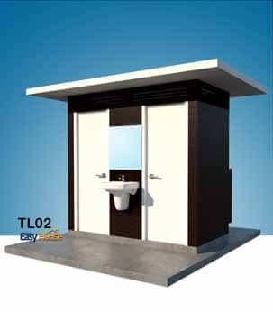 ห้องน้ำสำเร็จรูป ห้องน้ำน๊อคดาวน์ TL02