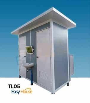 ห้องน้ำสำเร็จรูป ห้องสุขาสำเร็จรูป TL05